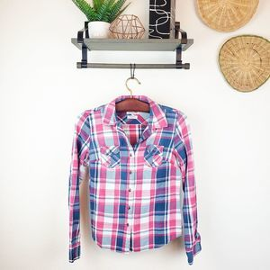 The North Face Small Plaid Button Up
